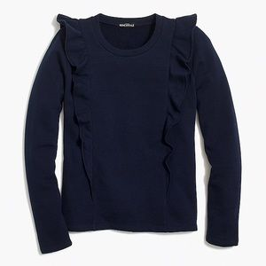 Sweaters - JCREW MERCANTILE Navy Sweater SMALL